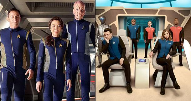 the orville vs discovery