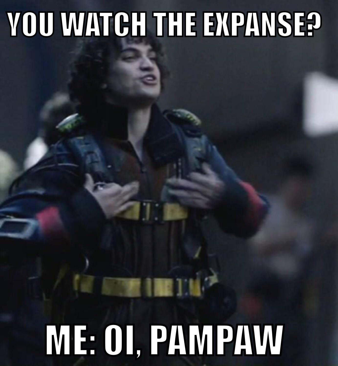 the expanse belter