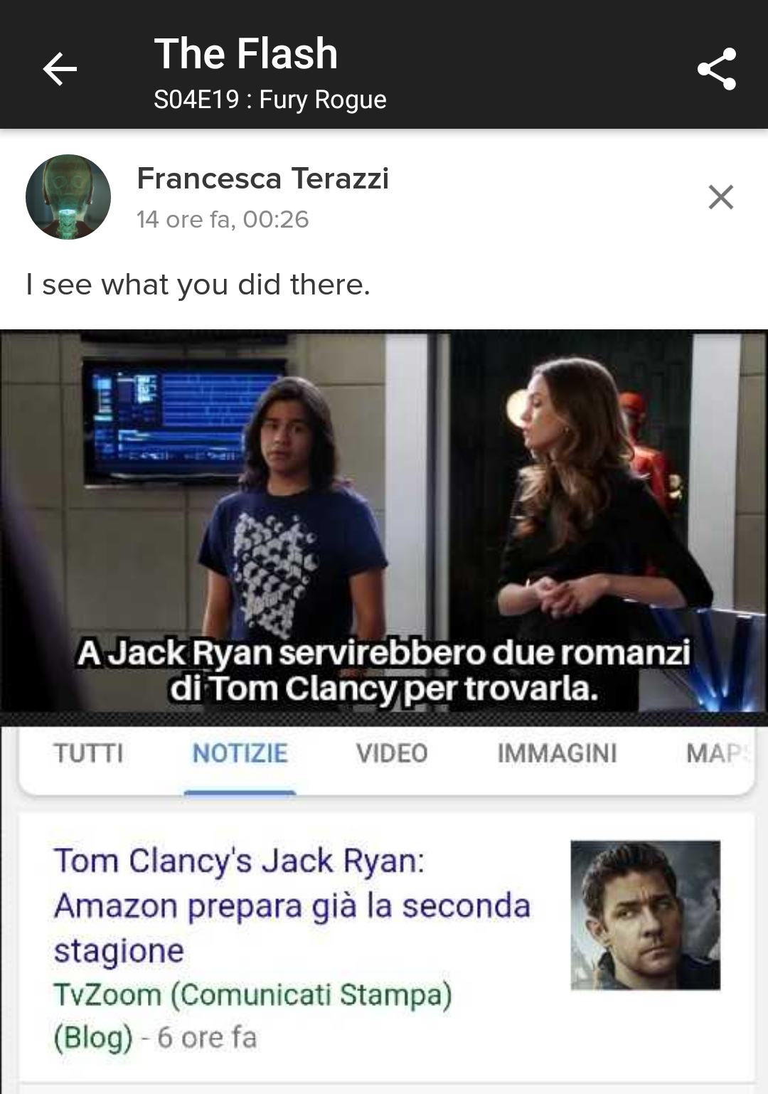 news tom clancy's jack ryan the flash