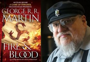 news fire and blood game of thrones george martin spin off