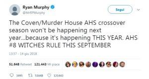 news ahs crossover american horror story
