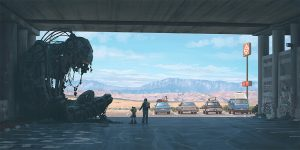 news nuove serie tales from the loop simon stalenhag