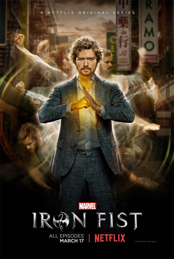 iron fist marvel cover poster locandina