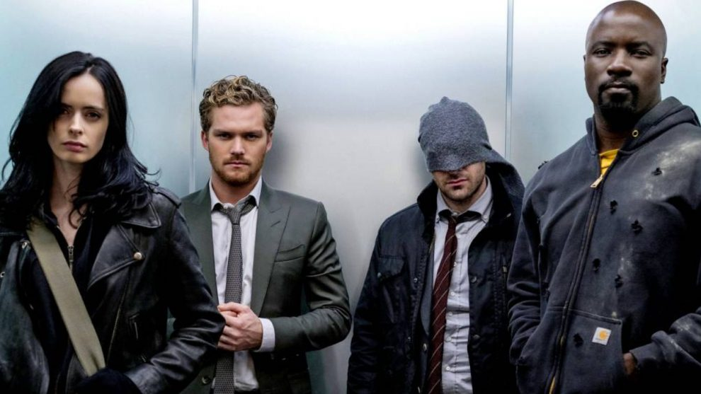 iron fist marvel defenders ascensore