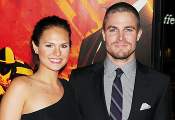 news cassandra jean stephen amell nora fries