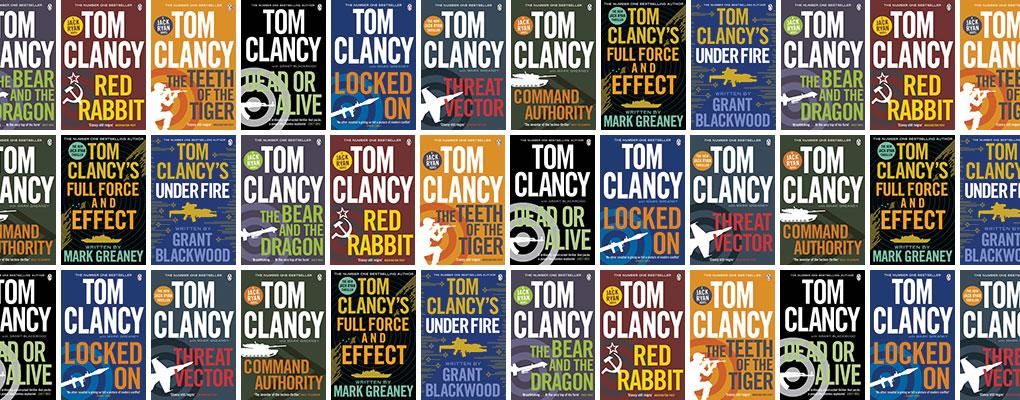 tom clancys jack ryan libri romanzi