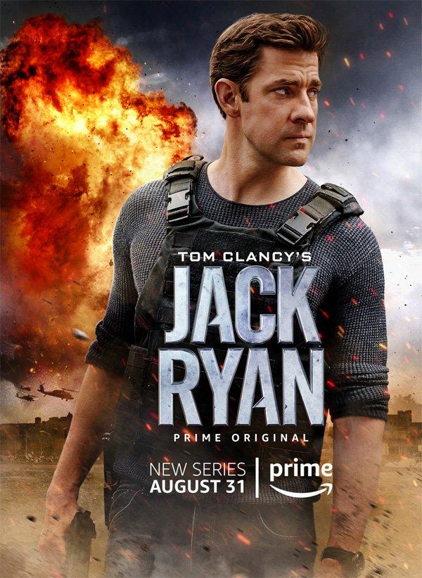 jack ryan poster cover locandina recensione seriescape