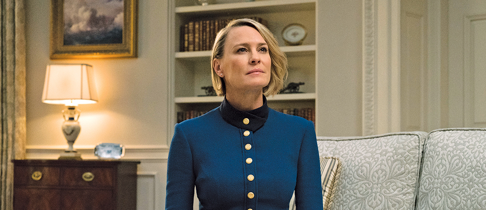 news house of cards robin wright kevin spacey